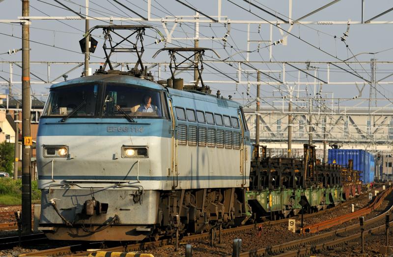 951レ EF66-114号機