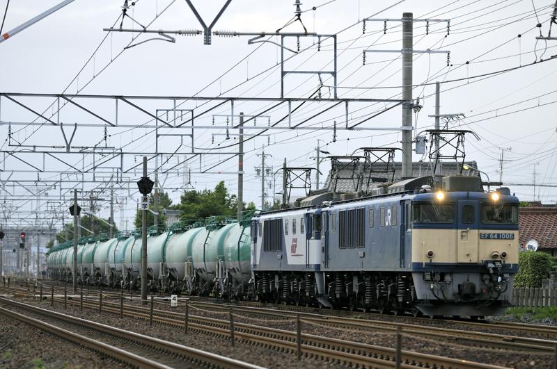 3081レ EF64-1006+1005号機