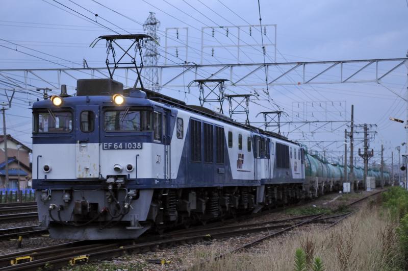 3081レ EF64-1038+1020号機