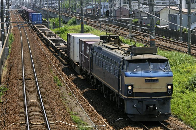 2071レ EF66-33号機