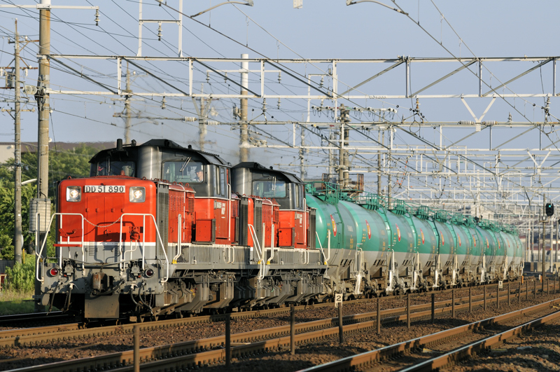 72レ DD51-890号機