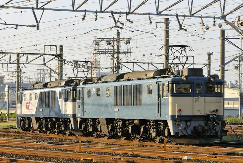 EF64-1050+1015号機