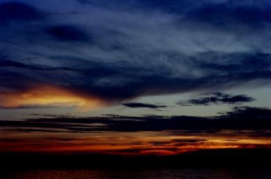 暗い夕焼け1