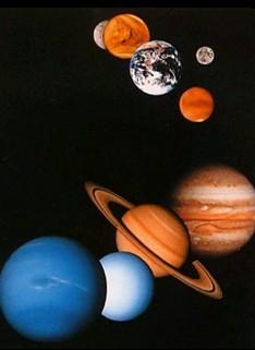 宇宙の惑星たち1