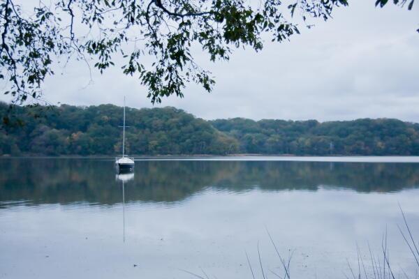 北欧の湖?