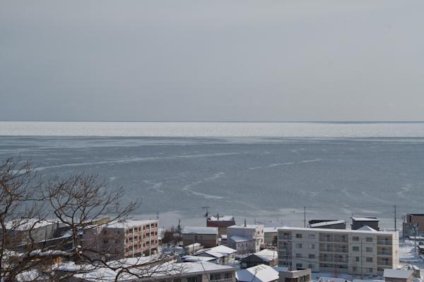 今朝の流氷