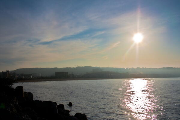 霧と太陽と・・・