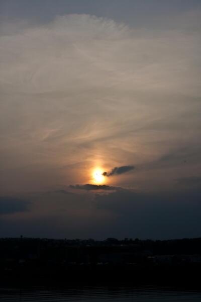 初夏の太陽柱