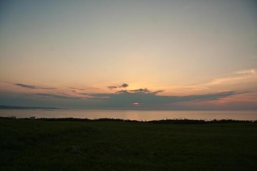 太陽の前に立ちはだかる雲