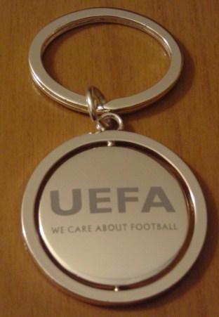 UEFA key ring