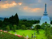2011_06_29 ダイヤモンド富士・仏舎利塔【やまなみ林道】