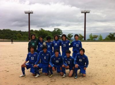 第10回 広島県社会人リーグ 1部(2011:5:22 sun)[start]
