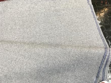 三甲テキスタイルの1001フランネル・カレッヂフラノ・オーダースーツ用