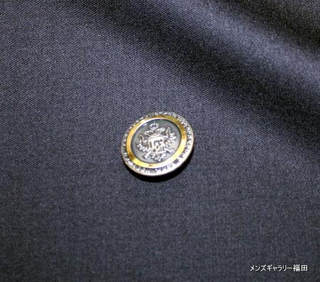 黒いメタルボタン