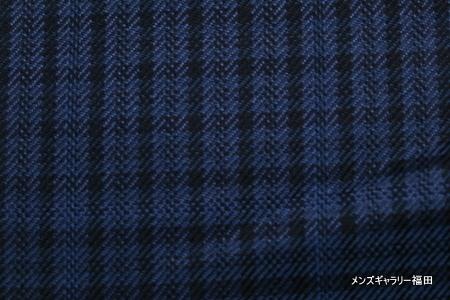 クアレーニャの青のチェック柄