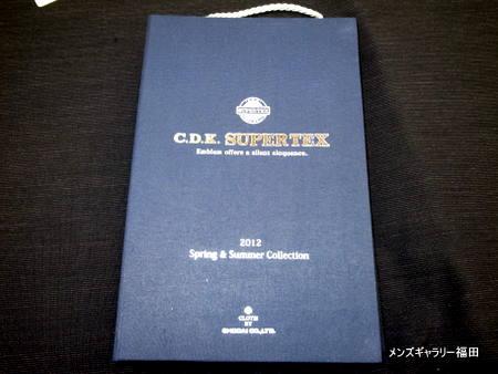 長大毛織のC.d.k.supertex2012SpringSummer