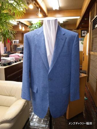 メルソレアのモヘアリネンのジャケット