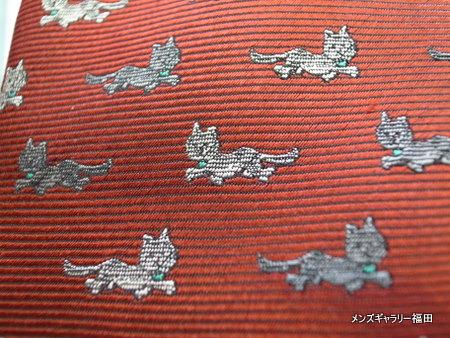 猫ネクタイ赤