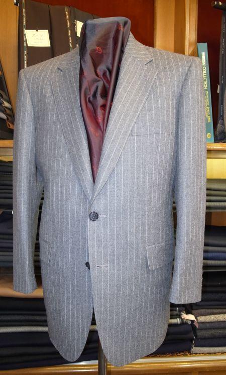 カノニコのSuper'120フランネルスーツ