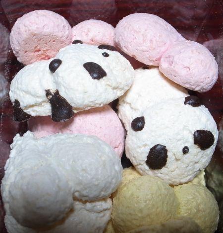 パンダ洋菓子