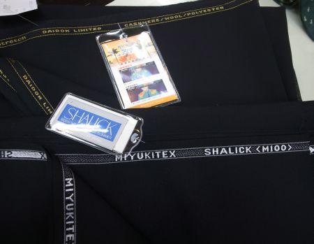 シャリックと亜熱帯-礼服用スーツ生地