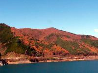 奥木曽湖の紅葉