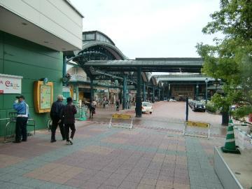 11月7日横川駅前