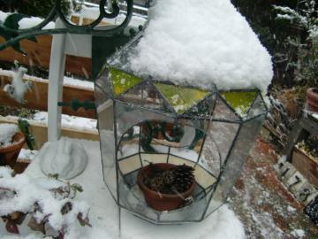 1月4日雪が・・!