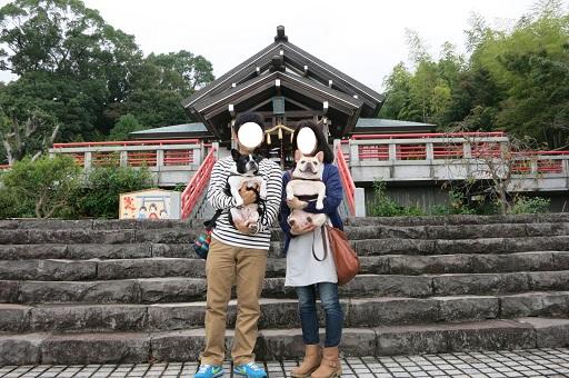 10-15神社家族