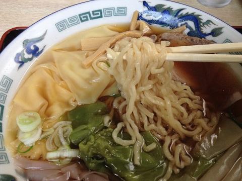 ワンタンメン麺