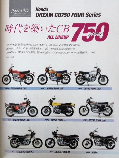 CB750本