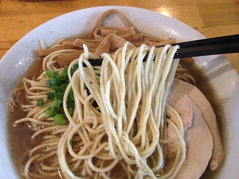 煮干し中華麺