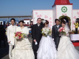 ロマンチック結婚式