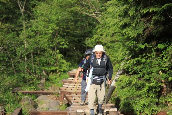八ヶ岳縦走 060