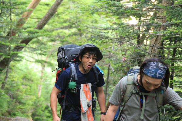 八ヶ岳縦走 087