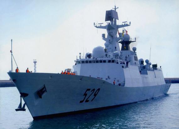フリゲート艦 中国