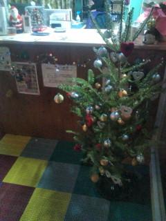 クリスマス色