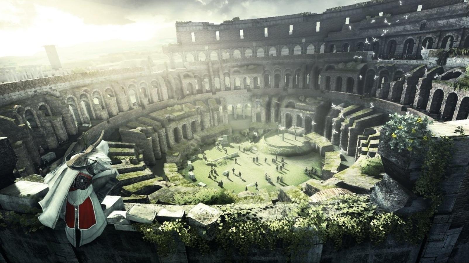 コロッセオも戦いの舞台