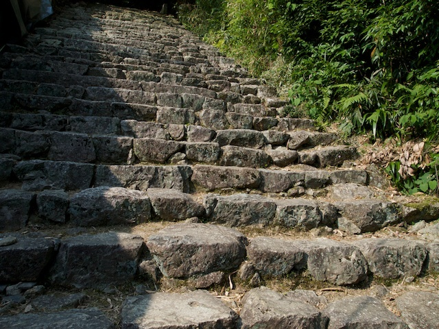 長命寺石段