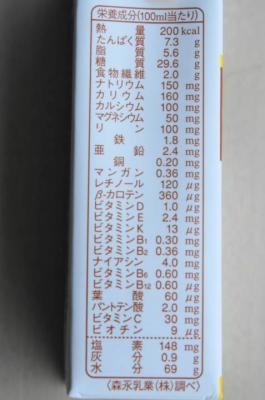 アクトケアMA‐R20 成分表