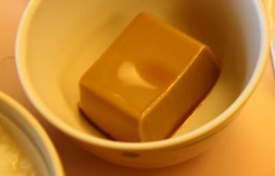 嚥下食31日夕食 コーヒーゼリー