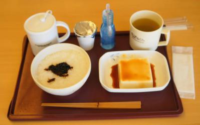 嚥下食8月1日朝食イメージ