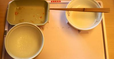 三分菜食8月1日昼食 完食