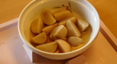 三分菜食8月1日昼食 小芋