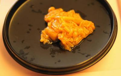 五分菜食8月3日昼食 なめ茸(ご飯の友)