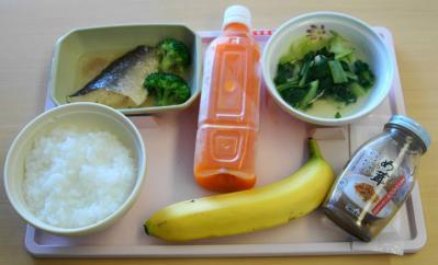 軟食86昼食 8月6日昼食(全粥)