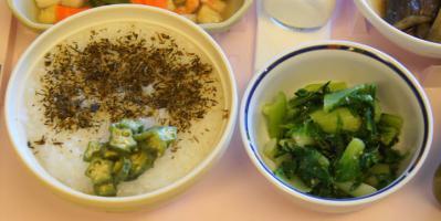 普通食816ひ 全粥(めかぶふりかけ)白菜