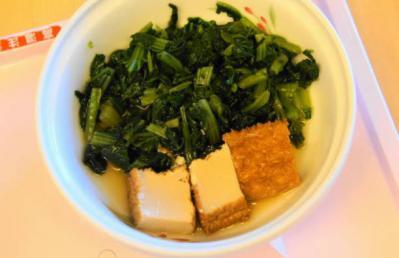 厚揚げと白菜の炒め煮