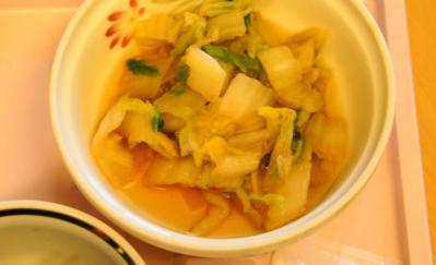普通食817ゆ 白菜の炒め煮