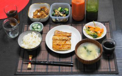 秋刀魚のかば焼き・牛蒡の天ぷら